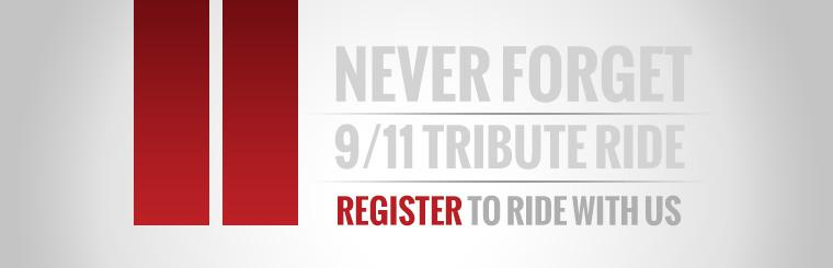 9/11 Tribute Ride | Click to register