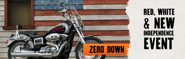 Red, White & NEW  |  ZERO down