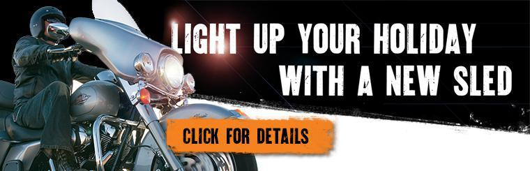 Light up your holiday with a new sled  |  Click for details