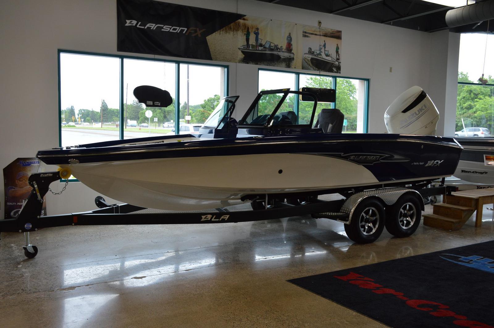 2019 Larson FX2020DC w/ Suzuki 300HP for sale in Minneapolis