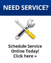 Need Service? Schedule Service Online Today! Click Here