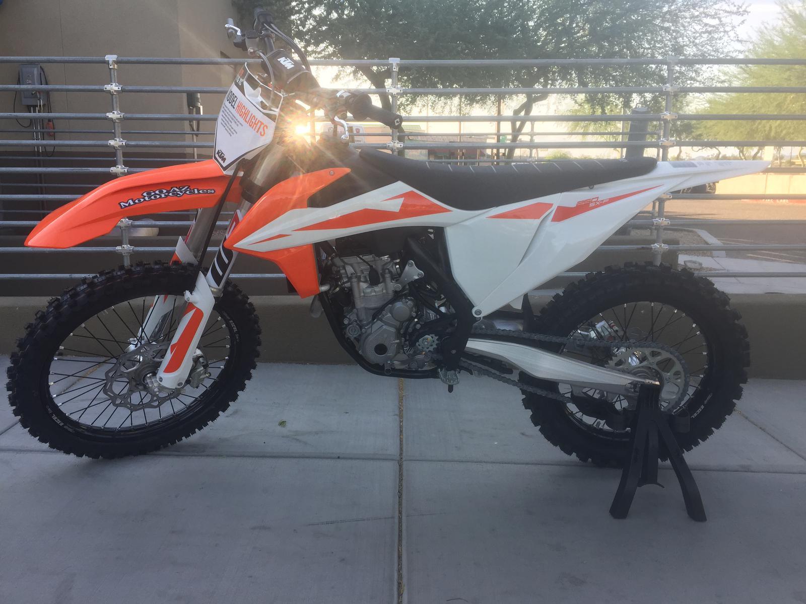 2019 ktm 250 sx f for sale in peoria az go az motorcycles in peoria 623 322 6700