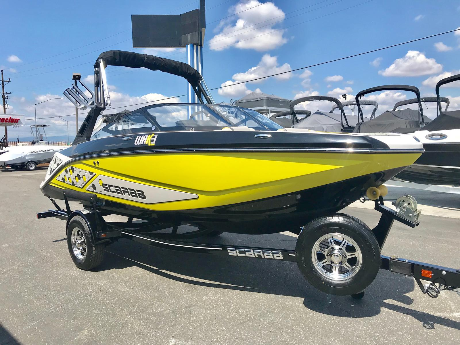 2019 Scarab 195 ID w/ 250HP Supercharged ROTAX Engine!