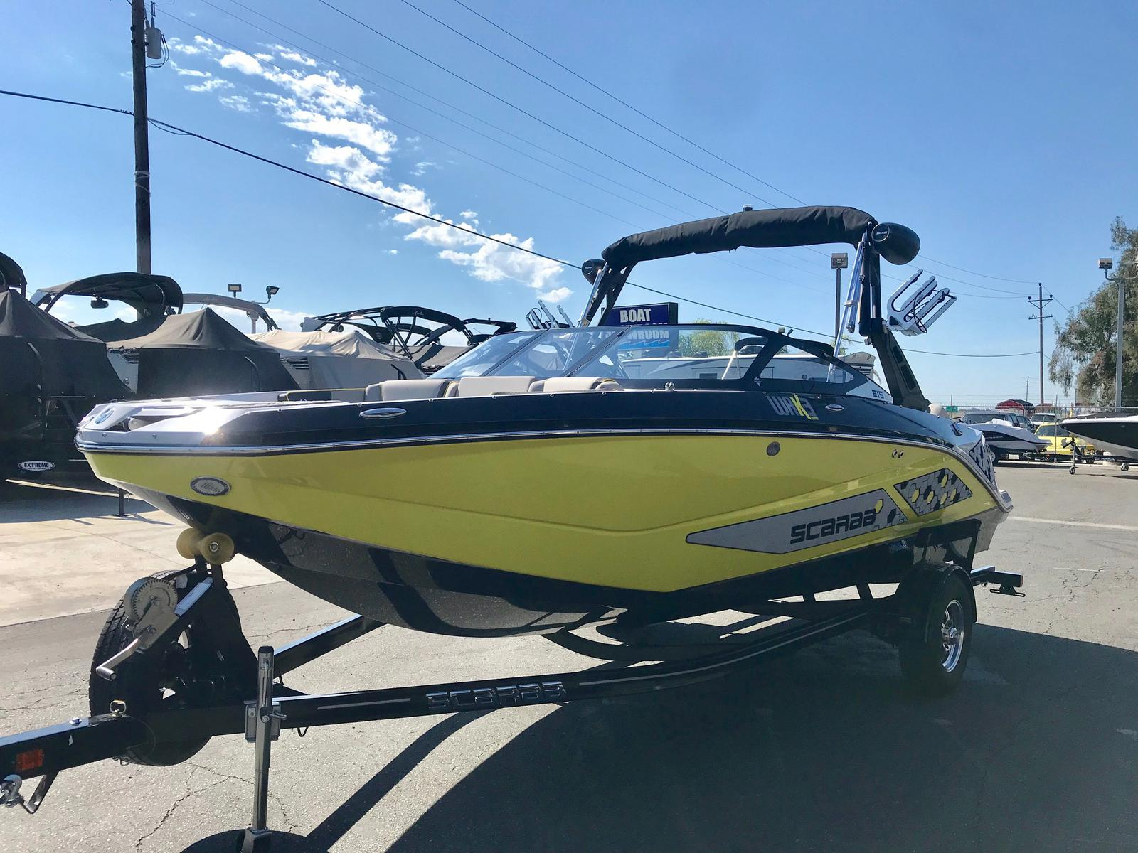 2019 Scarab 215 ID w/ Twin 250 HP Supercharged Rotax Engines!