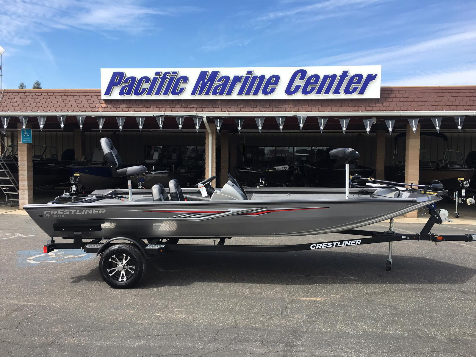 2018 Crestliner VT 19-Mercury 115hp for sale in Madera, CA | Pacific Marine  Center (559) 432-2277