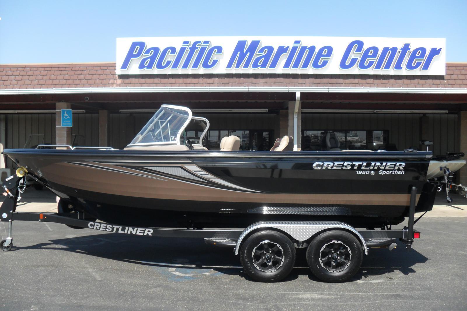 2017 Crestliner 1950 Sportfish Sst Mercury 225hp Verado For Sale In Wiring Harness Madera Ca Pacific Marine Center 559 432 2277