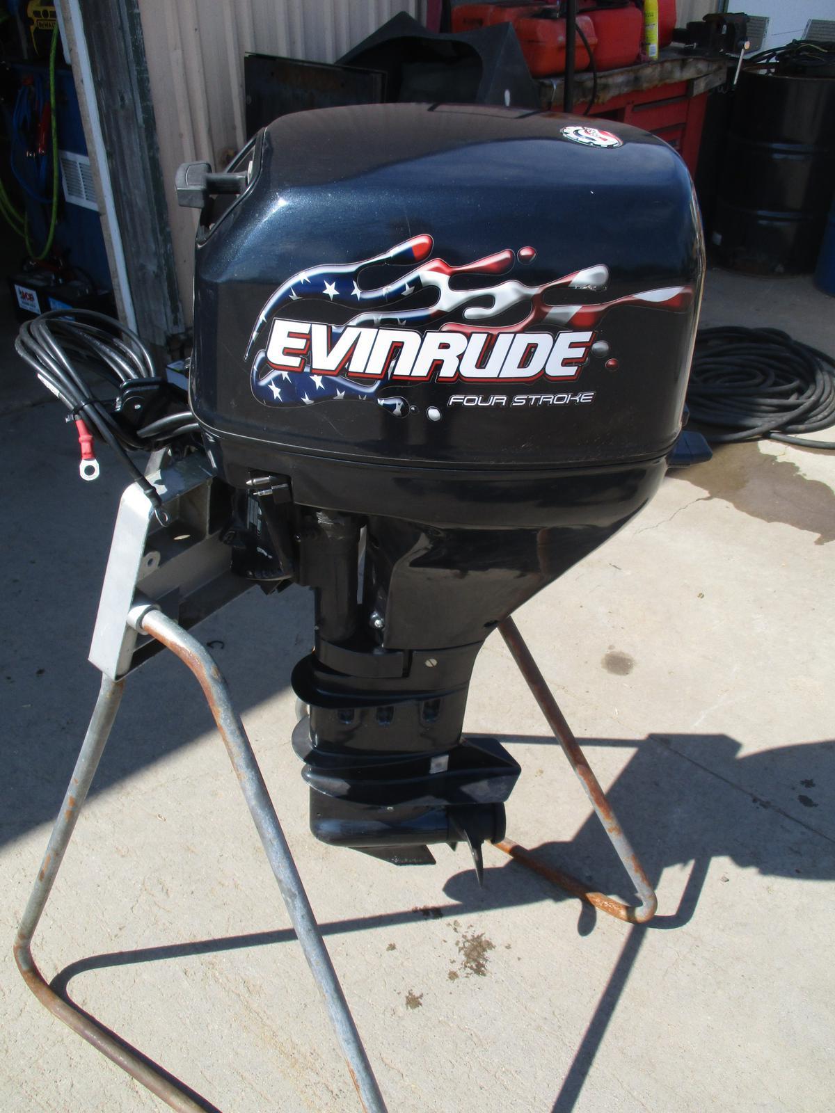 Evinrude 15 Hp >> 2000 Evinrude Evinrude 15 Hp 4 Stroke Motor For Sale In Elk River