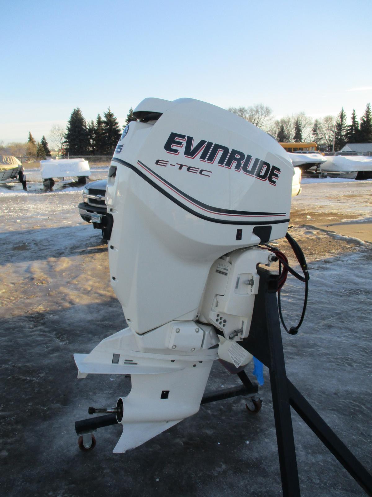 2009 Evinrude 115 HP E-TEC
