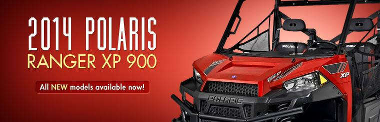 2014 Polaris Ranger XP 900: We have all new models available now! Click here for details.