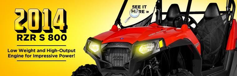 Click here to view the 2014 Polaris RZR S 800.