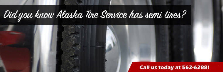 Did you know we have Semi-Tires? Call today!