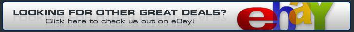 Looking for other great deals? Click here to check us out on eBay!