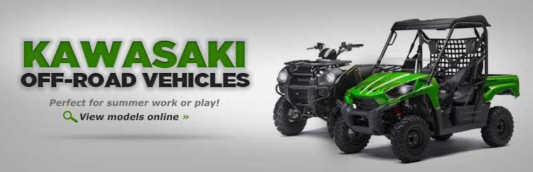 Click here to view Kawasaki off-road vehicles.