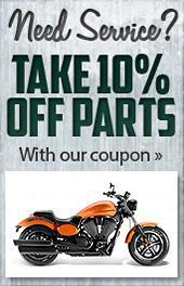 Need Service? Take 10% off parts with our coupon.