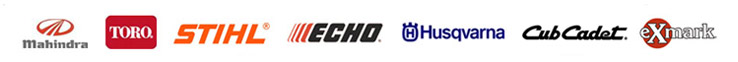 We proudly feature products from Mahindra, Toro, STIHL, ECHO, Husqvarna, Cub Cadet, and Exmark.