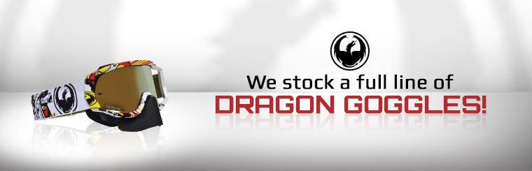 We stock a full line of Dragon goggles!