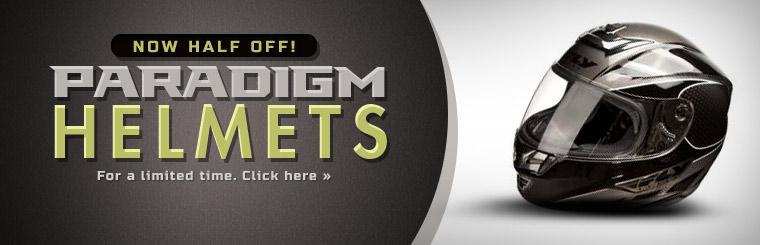 Paradigm helmets are now half off for a limited time!