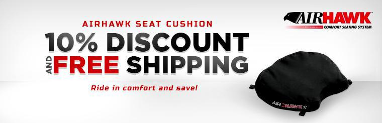 AIRHAWK Seat Cushion: Get a 10% discount and free shipping!