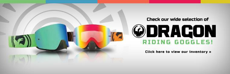 Check our wide selection of Dragon riding goggles!