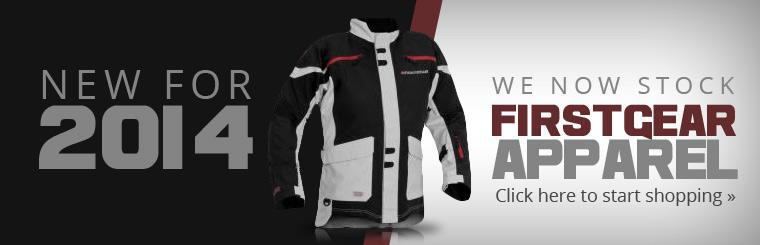 We now stock Firstgear apparel! Click here to start shopping.