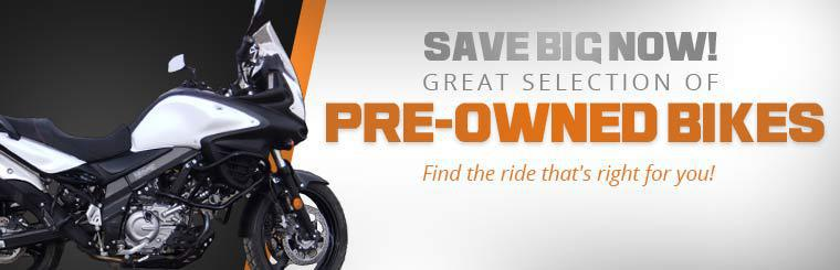Great Selection of Pre-Owned Bikes: Click here to find the ride that's right for you!