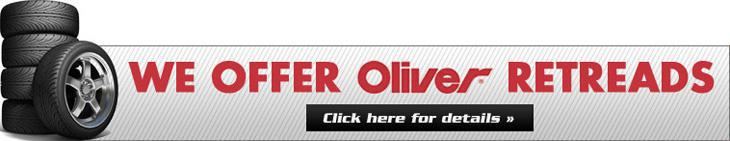 We Offer Oliver Retreads. Click here for details.