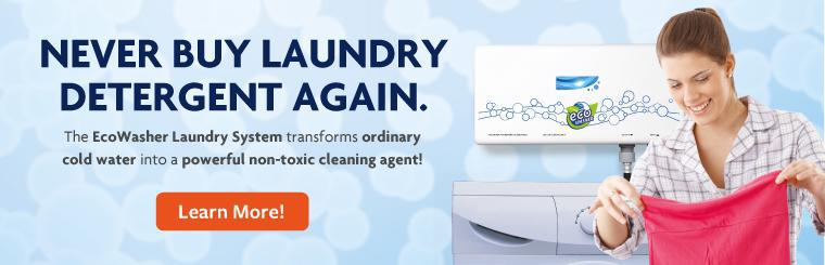 EcoWasher - Never Buy Laundry Detergent Again.
