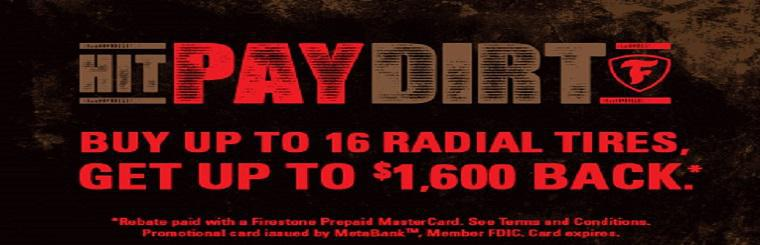 Hit Pay Dirt Rebate