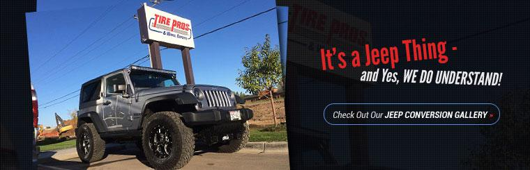 Check out our Jeep Conversion Gallery!