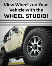 View wheels on your vehicle with the Wheel Studio!