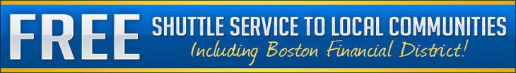 Free Shuttle Service To Local Communities Including Boston Financial District!