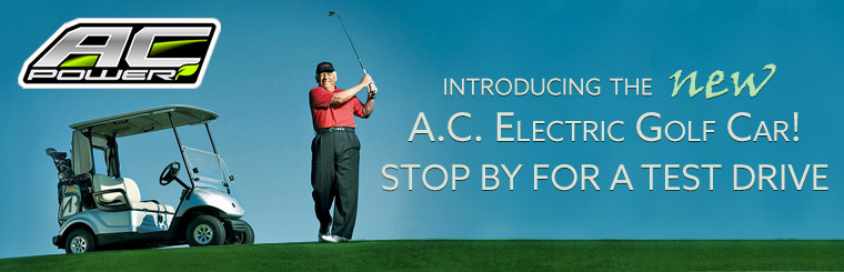 A.C. Electric Golf Cars