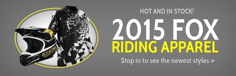 2015 Fox Riding Apparel: Stop in to see the newest styles or click here to shop online.
