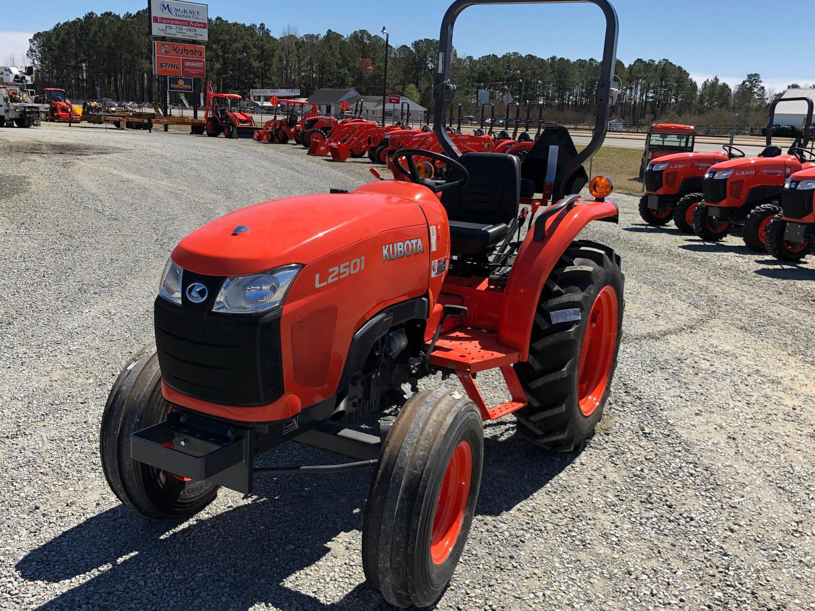 Agricultural Tractors from Kubota Musgrave Equipment Co  Goldsboro