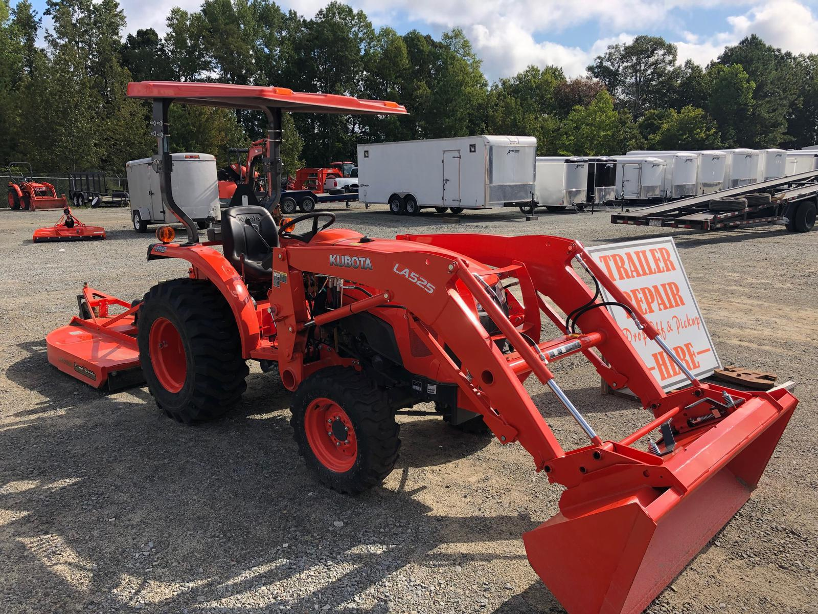 Agricultural Tractors and Construction Loaders from Kubota