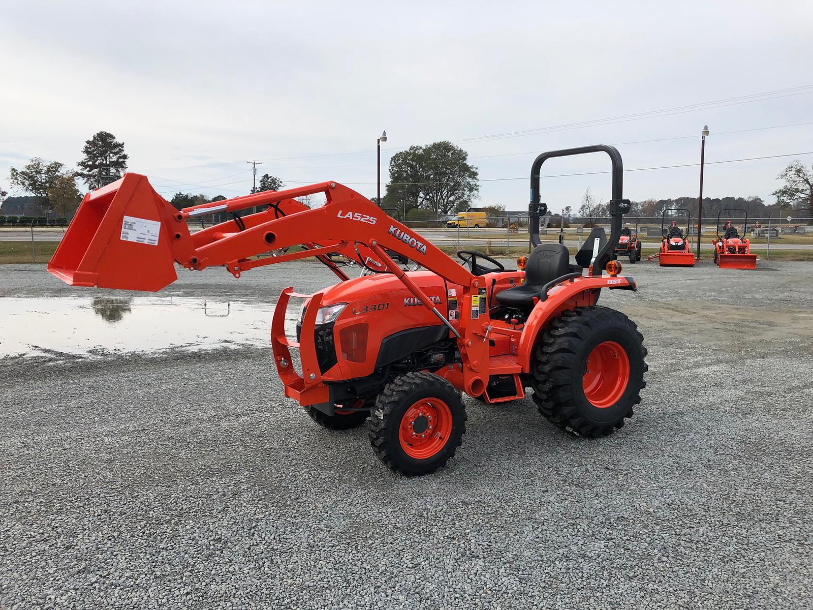 2019 Kubota L3301 HST 4WD for sale in Goldsboro, NC