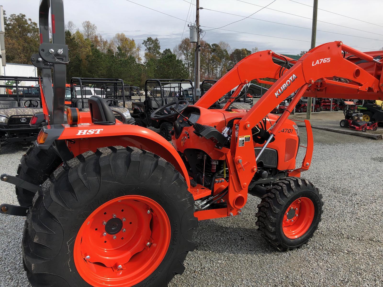 2019 Kubota L4701 HST 4WD for sale in Goldsboro, NC