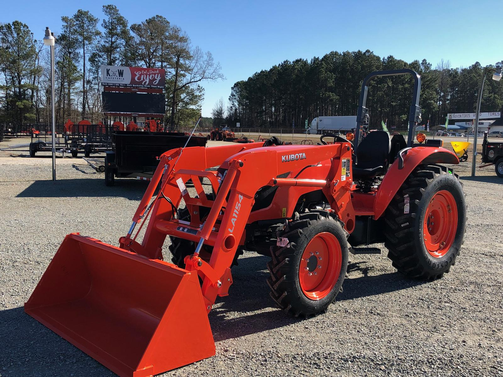 Agricultural Tractors from Kubota Musgrave Equipment Co