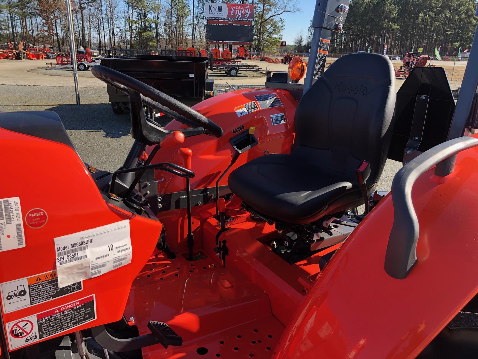 2019 Kubota M5660SUHD for sale in Goldsboro, NC  Musgrave
