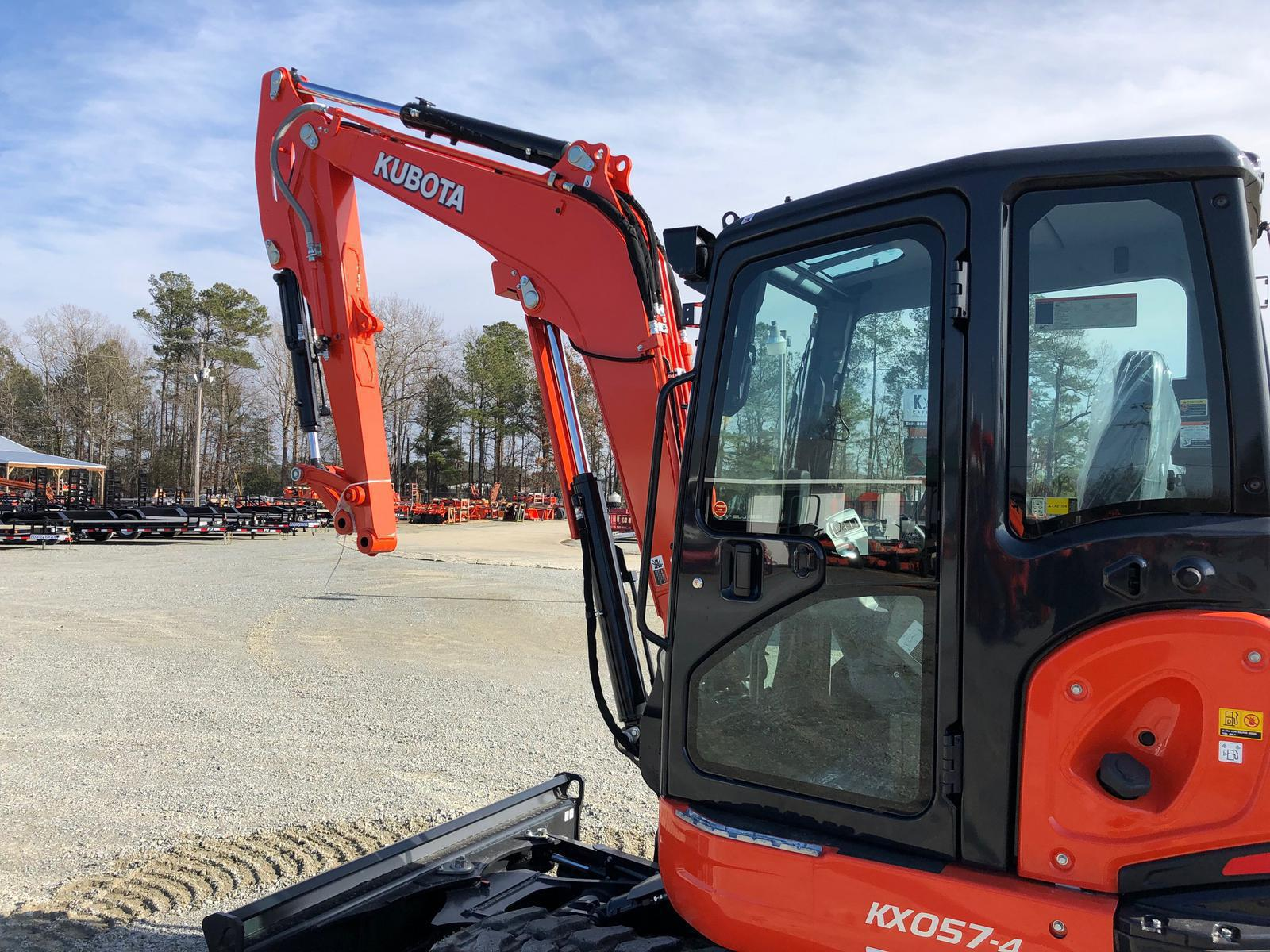 2019 Kubota KX057-4 Compact with Angle Blade for sale in