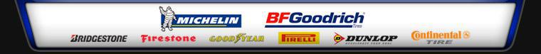We carry products from Michelin®, BFGoodrich®, Bridgestone, Firestone, Goodyear, Pirelli, Dunlop, and Continental.