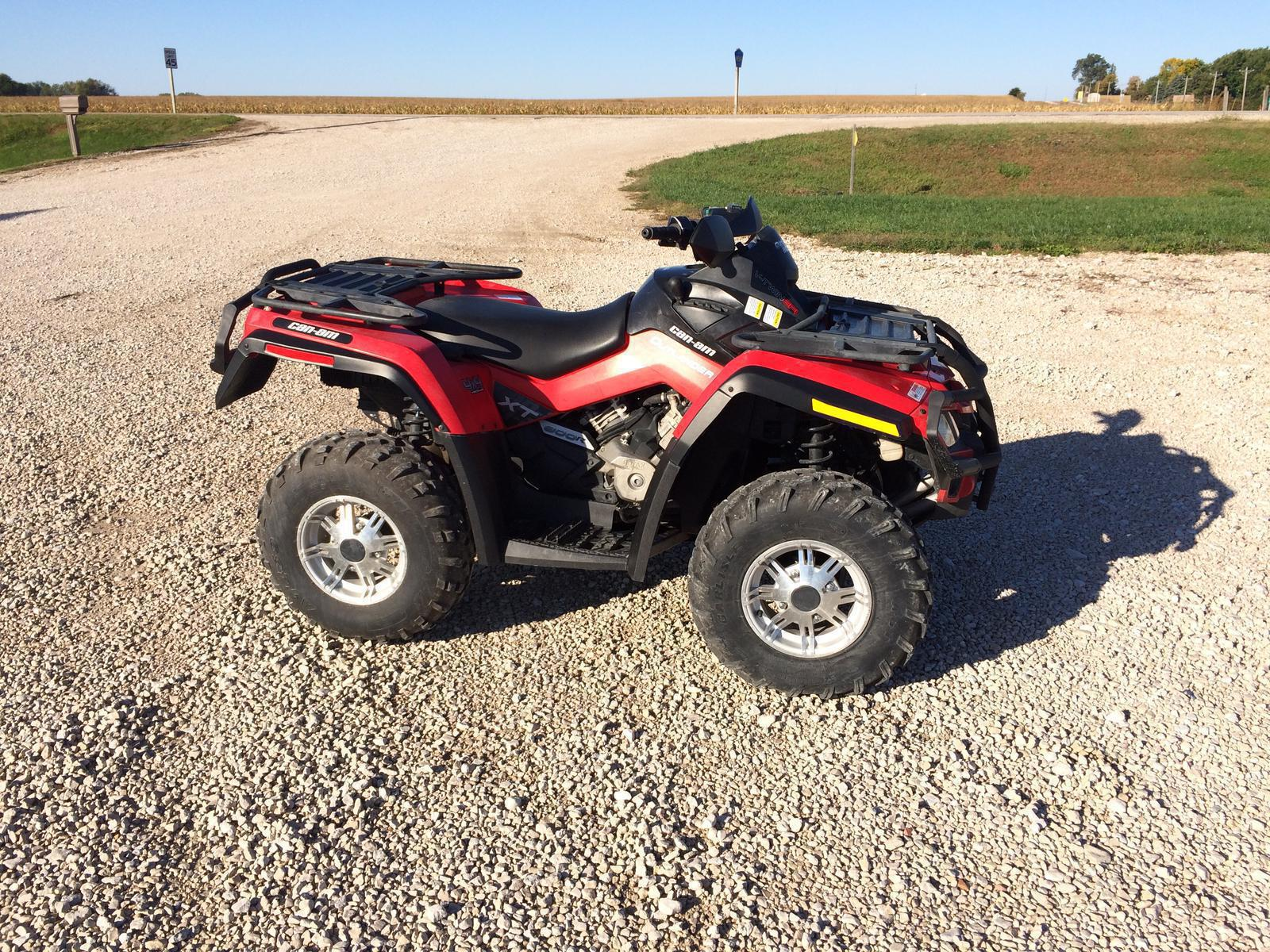2010 Can Am Outlander 800R EFI XT for sale in Lake View IA