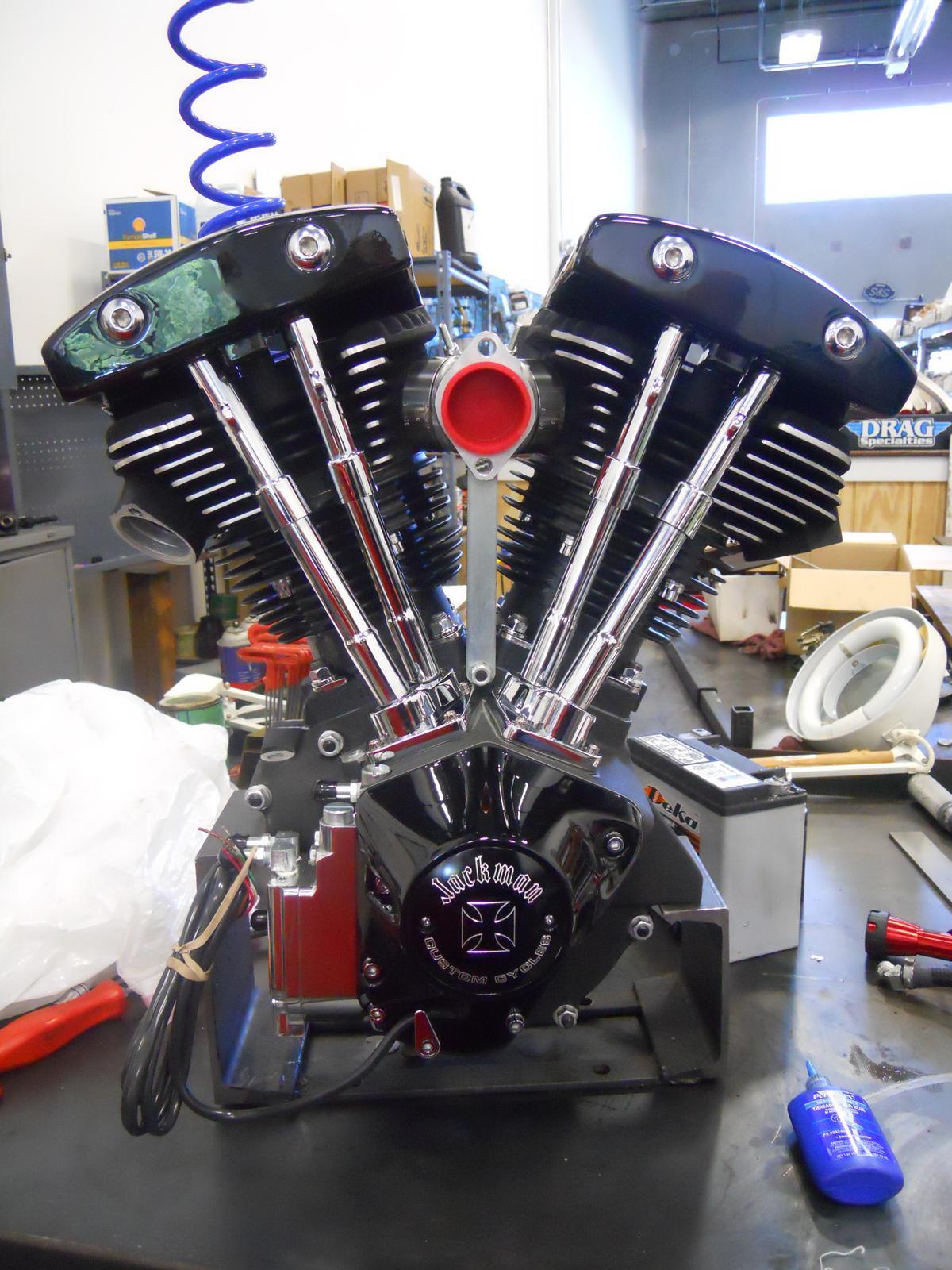 Jackman Custom Cycles, Custom Built Bikes by Jerry Jackman Custom