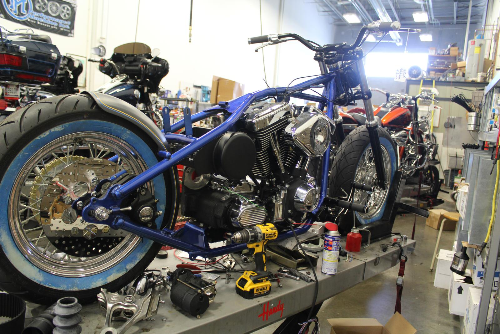 Custom Bobber Motorcycle Frames To Custom Motorcycle Build Rigid Frame Bobber For Lewis Hotchkiss Jackman Cycles Ormond