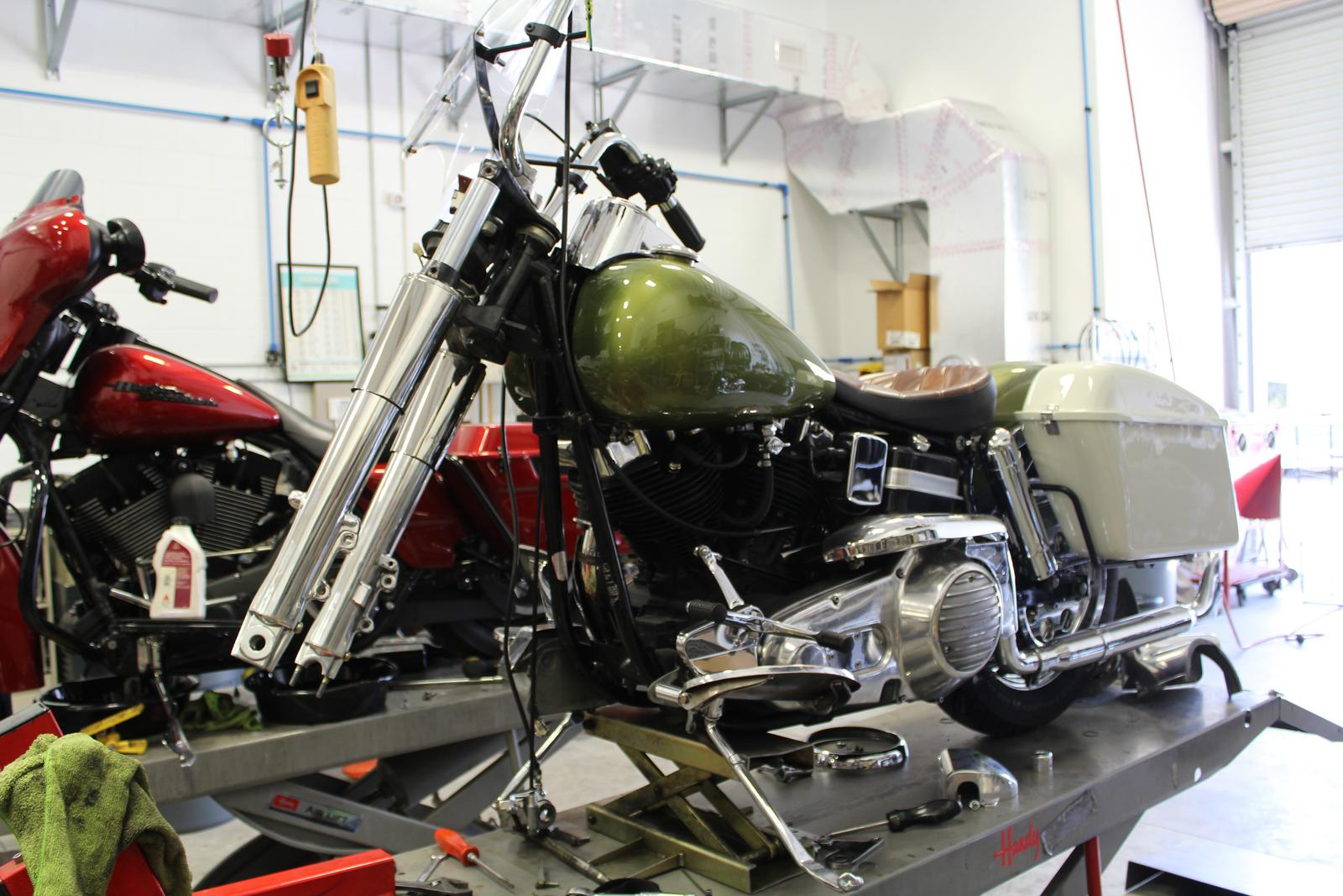 The Daily Grind Motorcycle Shop Photos Jackman Custom Cycles