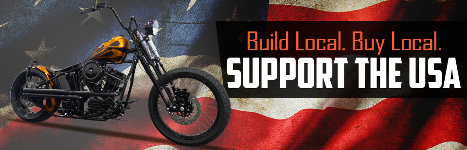 Support the USA: Build local. Buy local.