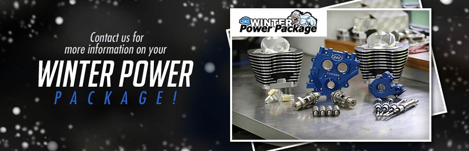 Contact us for more information on your Winter Power Package! Click here for details.