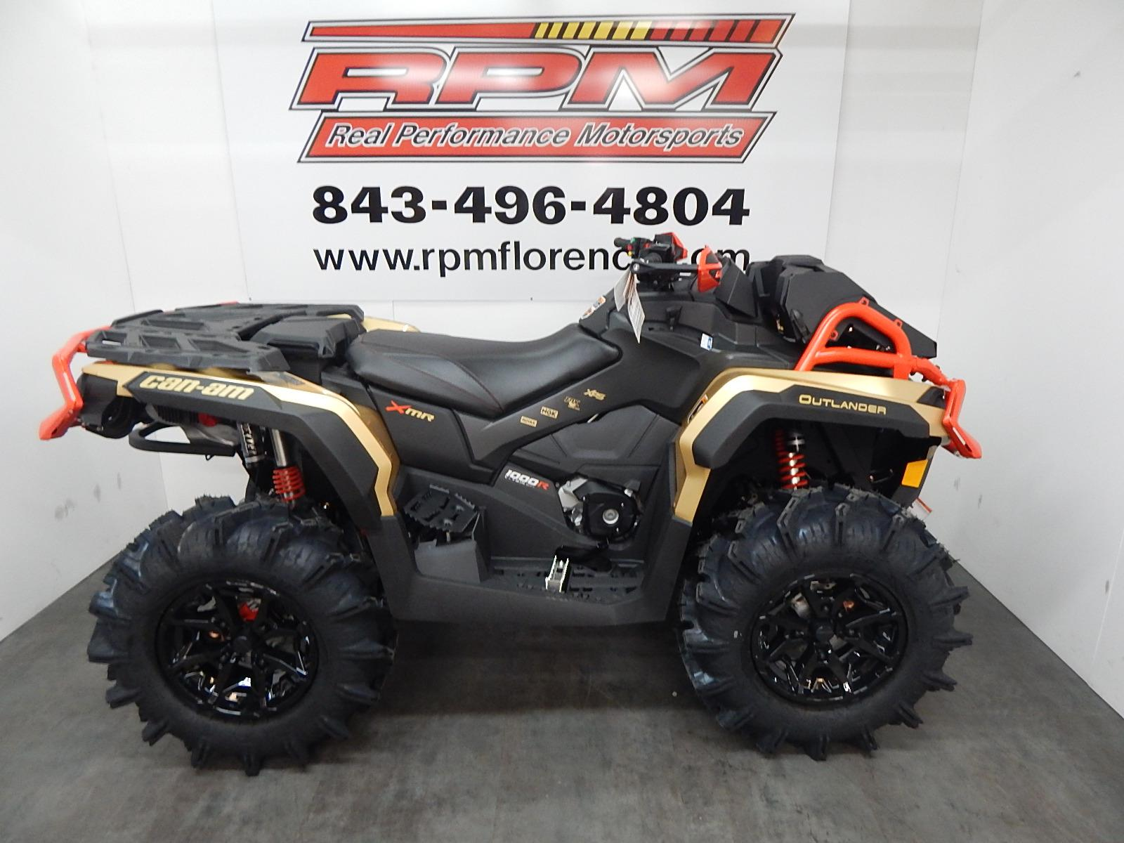 Can Am Outlander 1000 Xmr >> 2019 Can Am Outlander X Mr 1000r Gold Black Can Am Red For