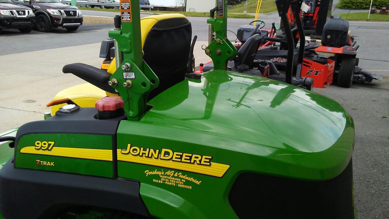John Deere 997 Ztrak Mercial Zeroturn Mower For. 997 Ztrack John Deere Used Mower For Sale Cambria. John Deere. John Deere Z997 Parts Diagram At Scoala.co