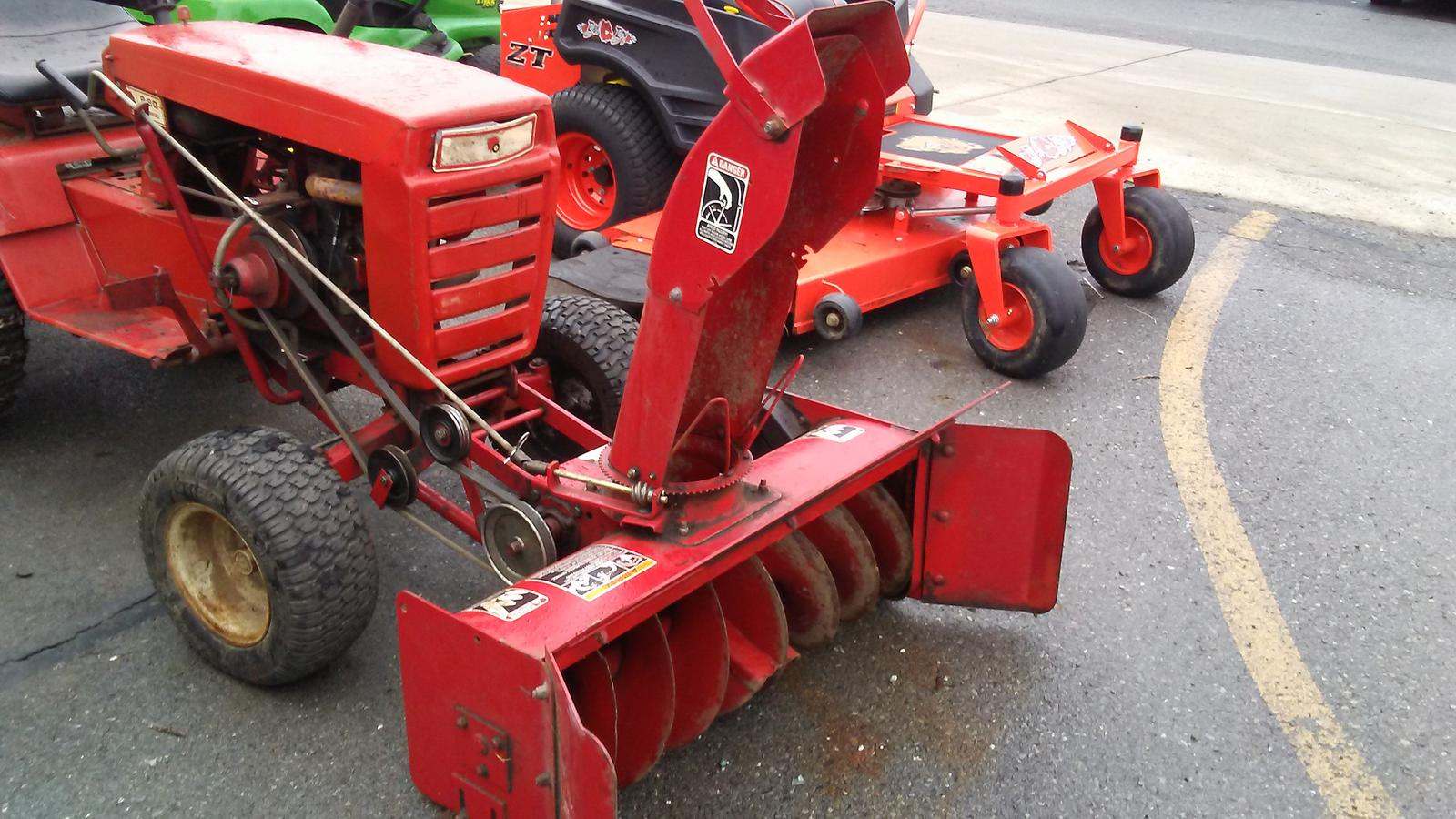 Wheel Horse 79360 Toro Snower Attachment